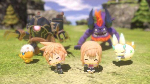 World of Final Fantasy mostra todo seu charme em novo vídeo