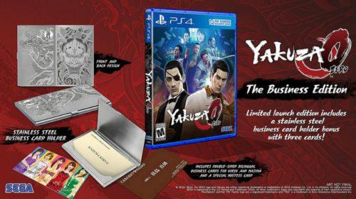 SEGA confirma edição especial de Yakuza 0; Pré-venda liberada