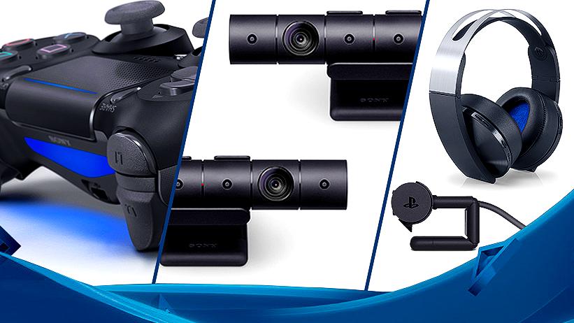 Sony anuncia: novo headset, nova PS Camera e novo DualShock 4
