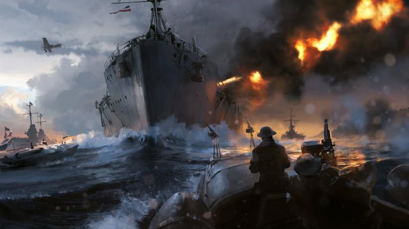 EA revela novo trailer de Battlefield 1 destacando invasão naval