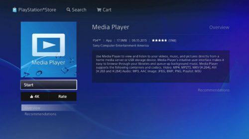 Media Player do PlayStation 4 recebe atualização; confira
