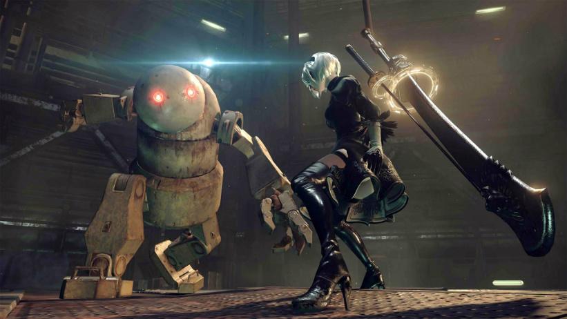 NieR: Automata recebe novos gameplays de novas áreas; assista