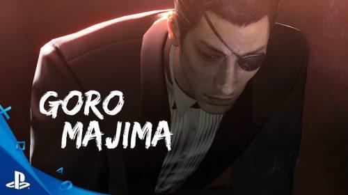 Goro Majima é destaque em novo trailer de Yakuza 0