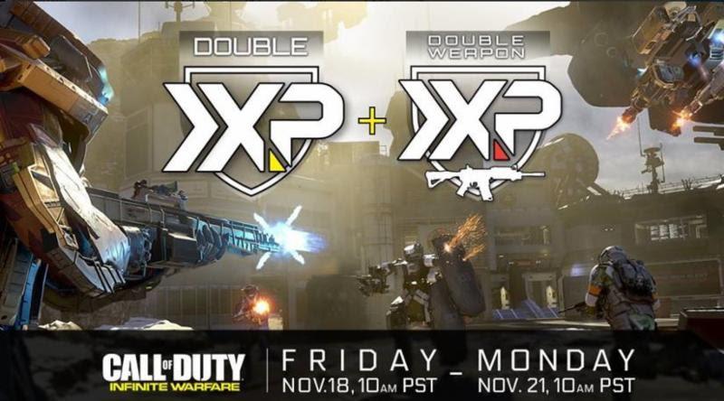 Call of Duty: Infinite Warfare está com evento de XP duplo