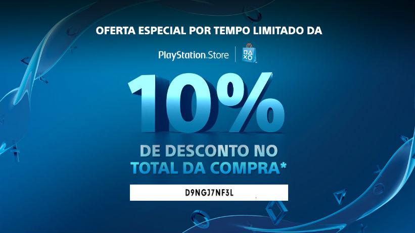 Cupom oferece 10% de desconto na PSN; resgate o seu!