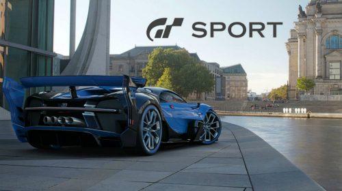 Sony mostra Gran Turismo Sport no PlayStation VR; confira