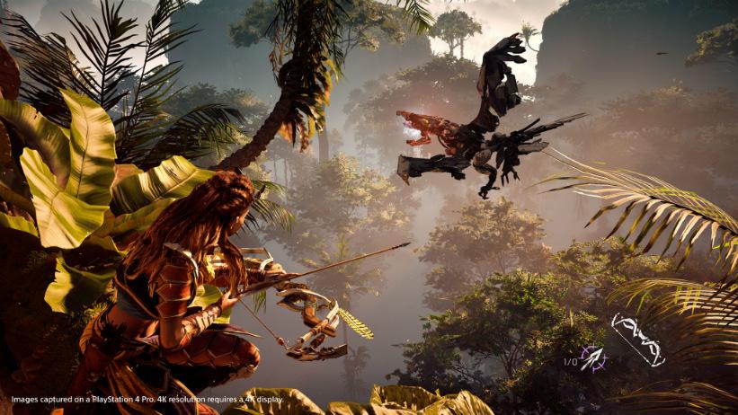 Sony explica as melhorias de Horizon: Zero Dawn para o PS4 Pro