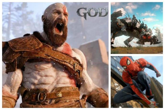 Homem-Aranha, Horizon e Kratos em novo comercial do PlayStation