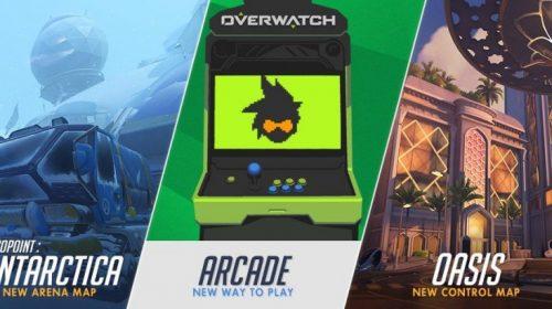 Overwatch ganhará modo Arcade e dois novos mapas