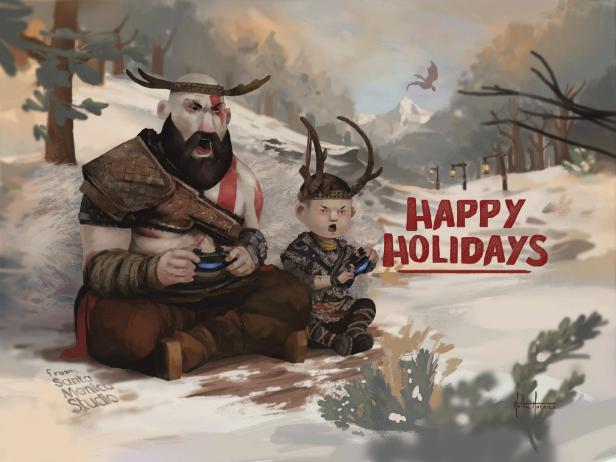 Sony e parceiros desejam boas festas com cartões especiais; veja