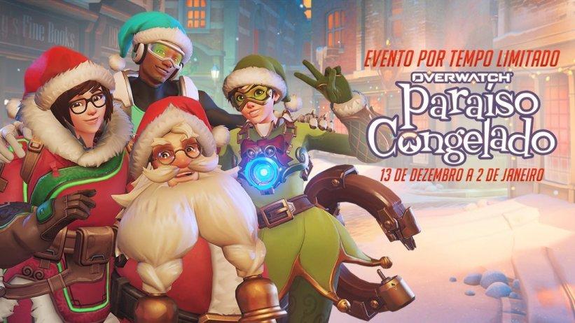 É Natal em Overwatch! Novo evento é anunciado com trailer