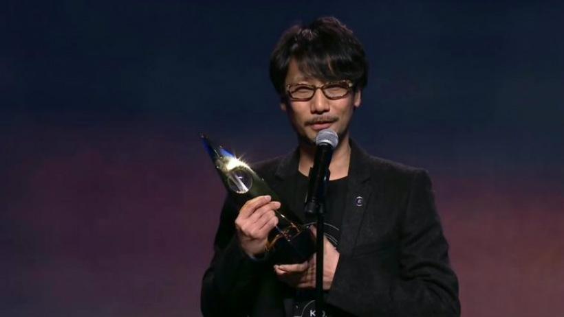 Kojima recebe prêmio de ícone da indústria no The Game Awards 2016