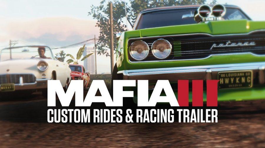 Mafia III recebe atualização com corrida de carros personalizados