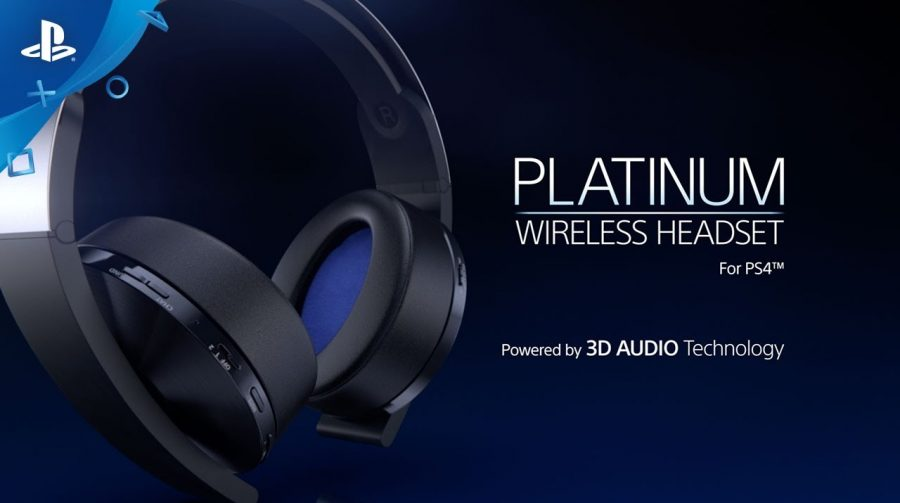 Platinum Wireless Headset, novo periférico da Sony recebe vídeo