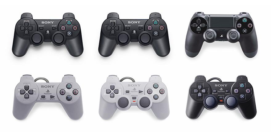 Todos os controles do PlayStation em uma só imagem