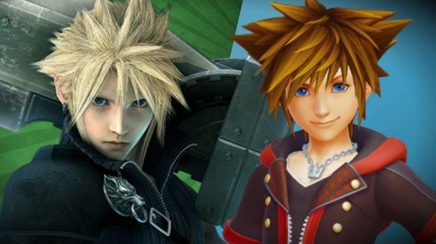 Final Fantasy VII Remake e Kindgom Hearts III não devem chegar em 2017