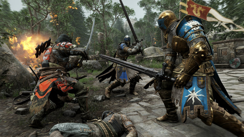 Novos gameplays de For Honor mostram modos single e multiplayer