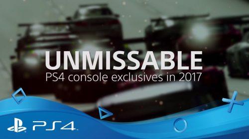 Sony mostra seus exclusivos para 2017 em novo trailer; confira