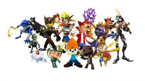 A história do mascote da PlayStation, que nem chegou a sê-lo
