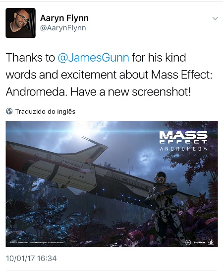 Mass Effect: Andromeda - Twitter 4