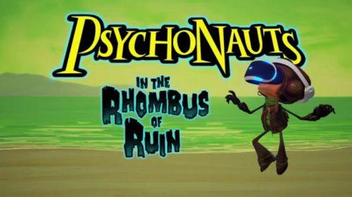 Para o PlayStation VR, Psychonauts chegará dia 21 de fevereiro
