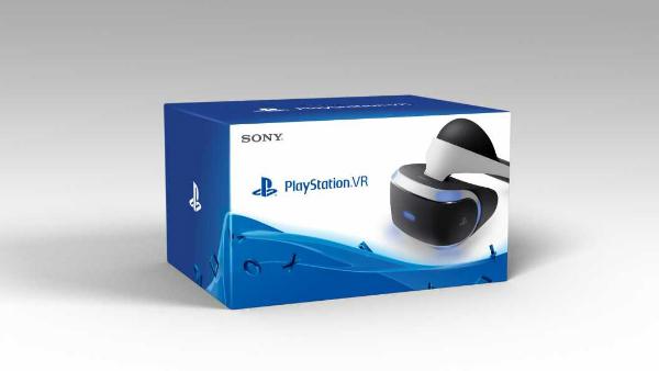 PlayStation VR - caixa