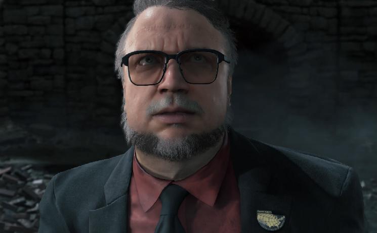 Guillermo Del Toro não está participando da criação de Death Stranding