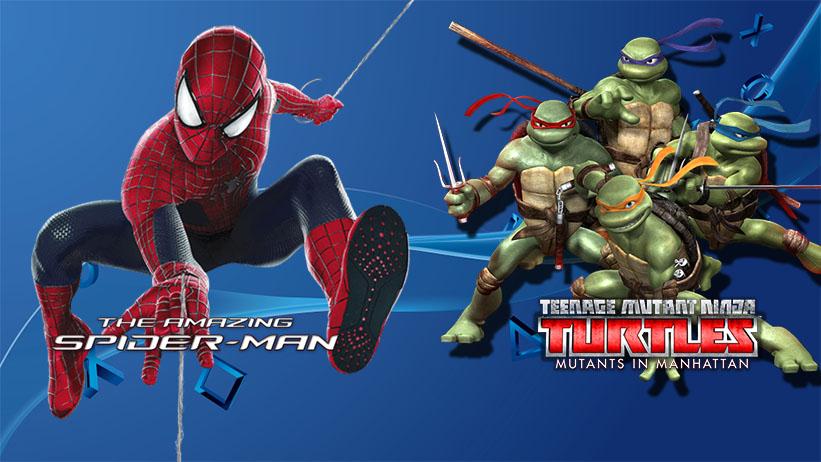 Tartarugas Ninjas e The Amazing Spider-Man 2 são removidos da PSN