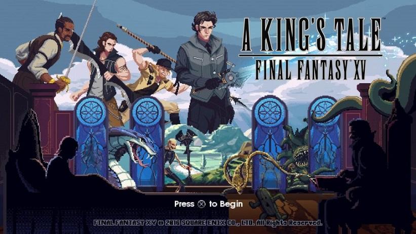A King's Tale: Final Fantasy XV está disponível gratuitamente na PSN; baixe