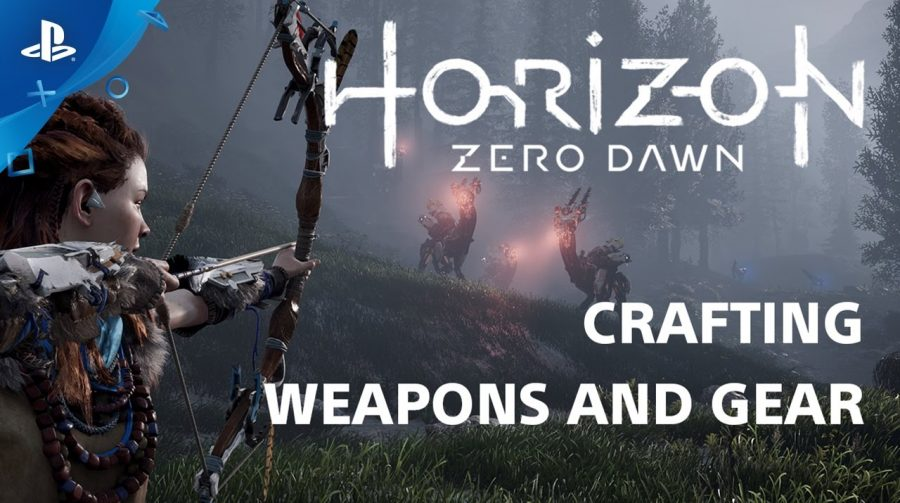 A contagem regressiva continua! Novo vídeo de Horizon mostra 'crafting'