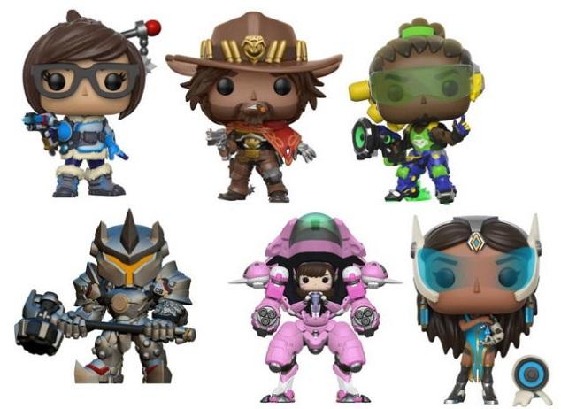 Fofíssimos! Overwatch ganhará novos bonecos colecionáveis