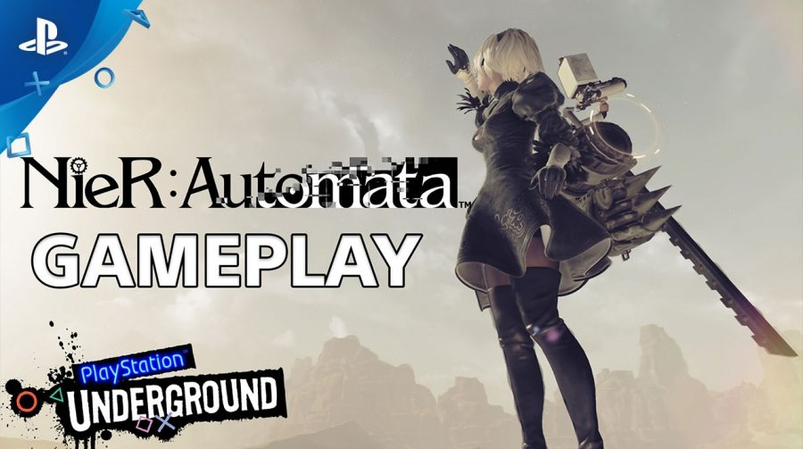 25 incríveis minutos de gameplay de NieR: Automata