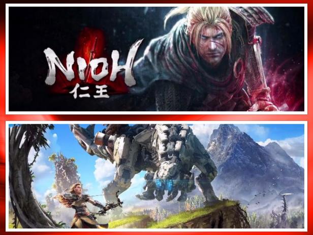 Saraiva volta oferecer Nioh e Horizon: Zero Dawn com desconto especial