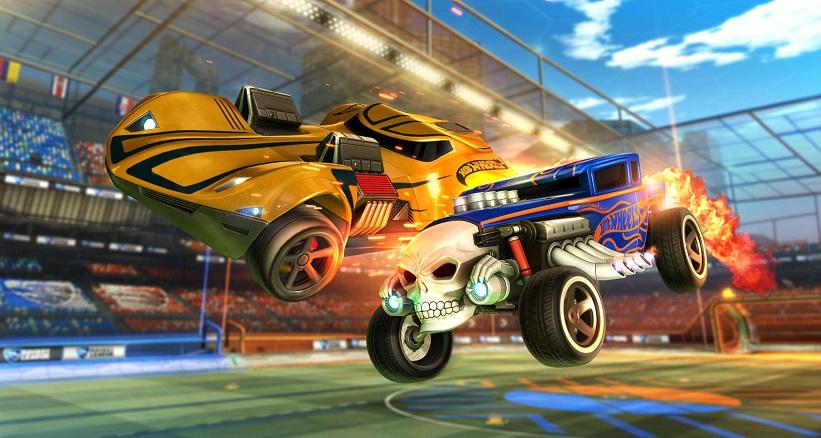 Carrinhos da Hot Wheels chegam ao Rocket League; Confira detalhes