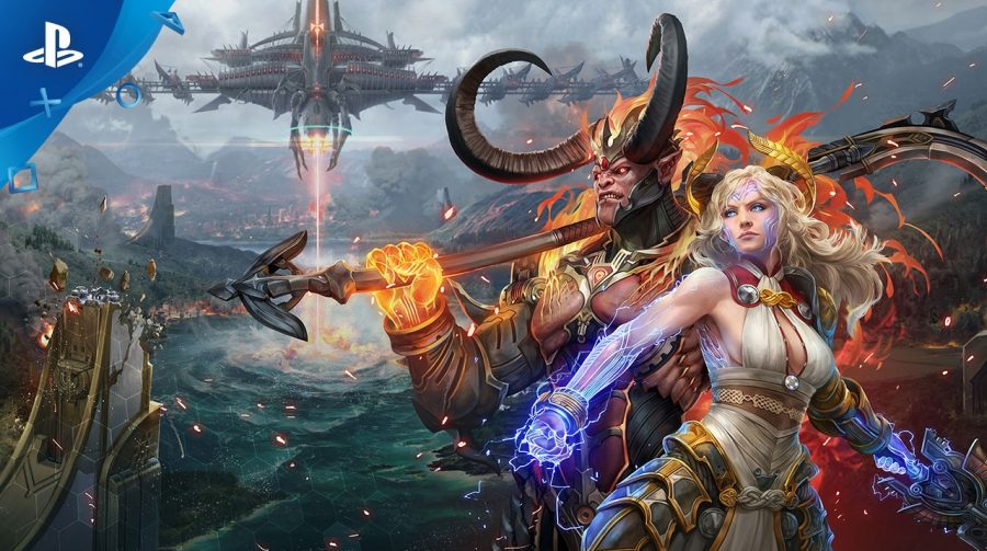 Skyforge, MMORPG, chegará ao PlayStation 4 gratuitamente em março