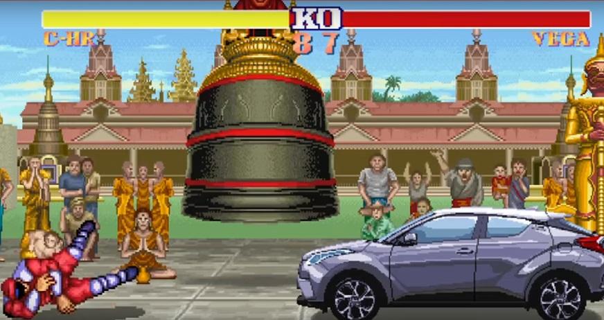 Inspirado em Street Fighter II, Toyota lança melhor comercial do ano