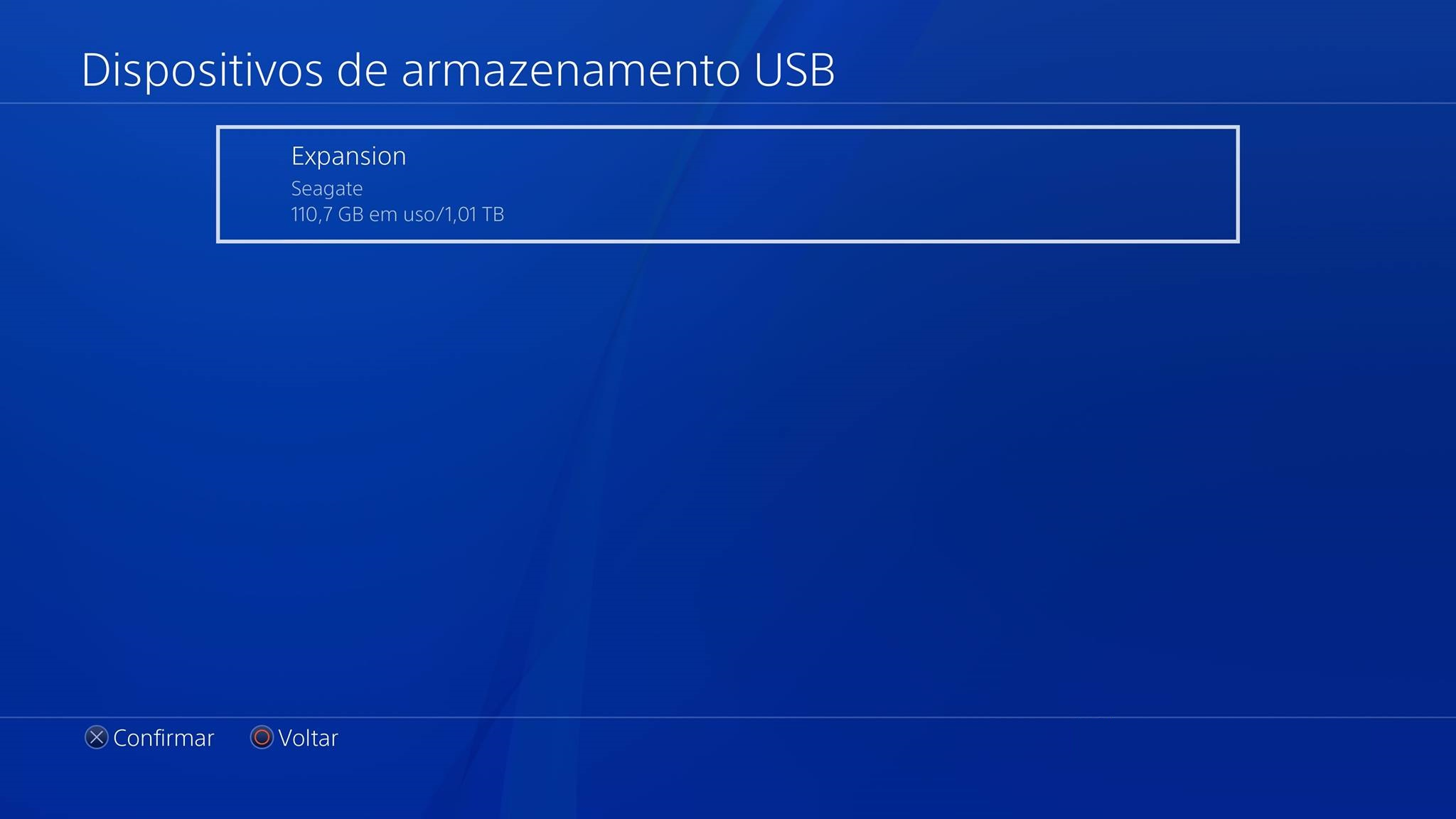 [Tutorial] Como configurar e usar HD externo no PlayStation 4 3