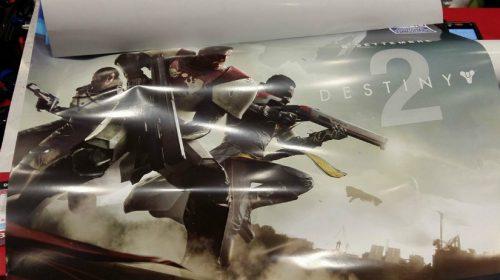 [Rumor] Destiny 2 chegará ao PS4 em setembro; poster vazado