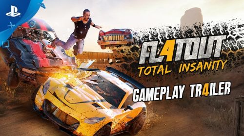 FlatOut 4: Total Insanity chega esta semana ao PS4; confira trailer