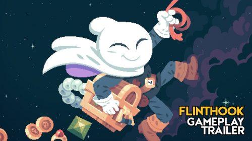 Flinthook, jogo de piratas do espaço, chegará ao PS4 em 18 de abril