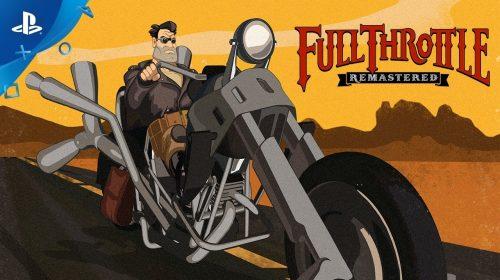 Full Throttle Remastered chegará ao PS4 em 18 de abril