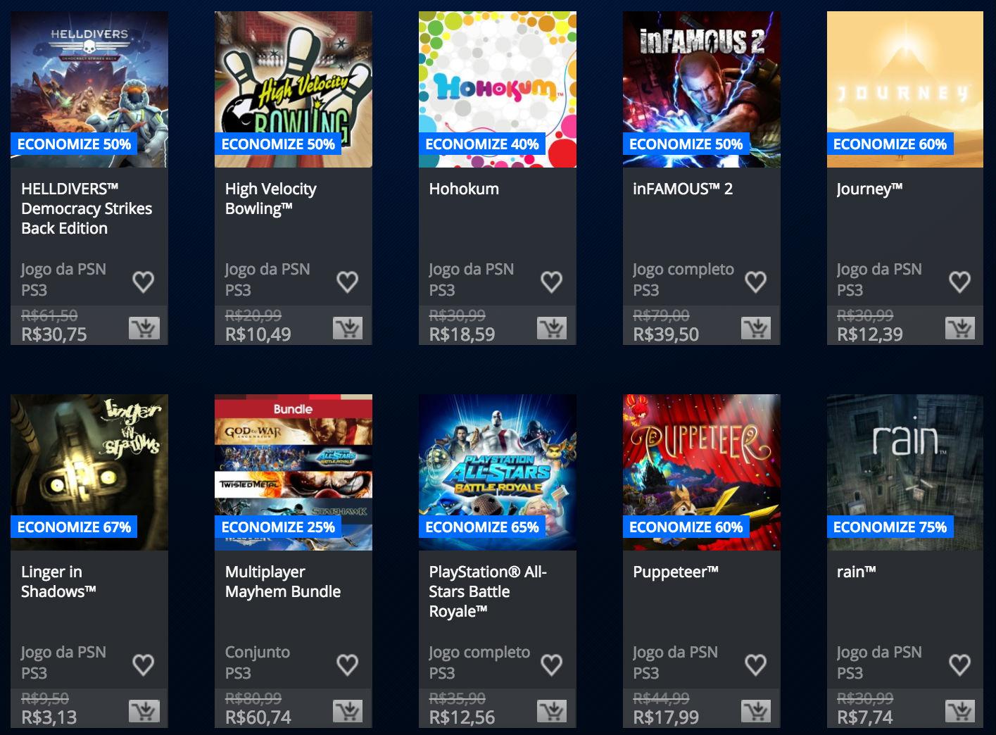 """Sony anuncia """"Promoção Somente no PlayStation"""" na PSN; veja preços 8"""