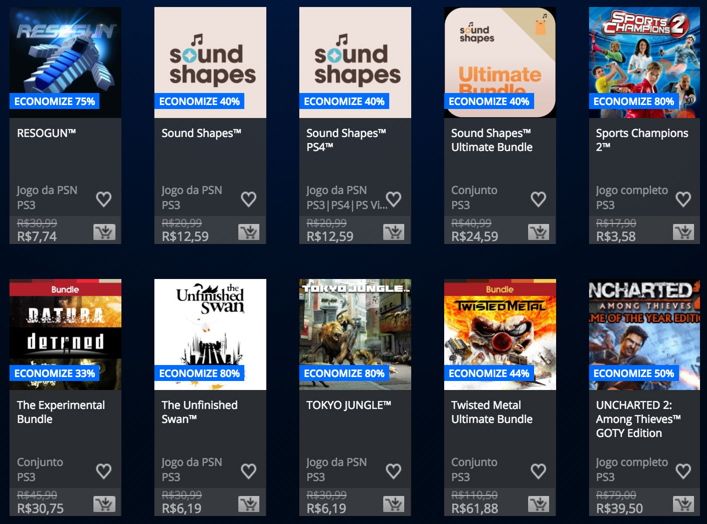 """Sony anuncia """"Promoção Somente no PlayStation"""" na PSN; veja preços 9"""