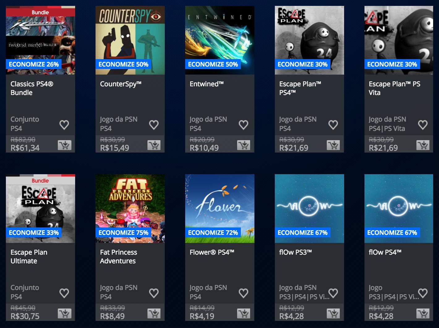 """Sony anuncia """"Promoção Somente no PlayStation"""" na PSN; veja preços 2"""