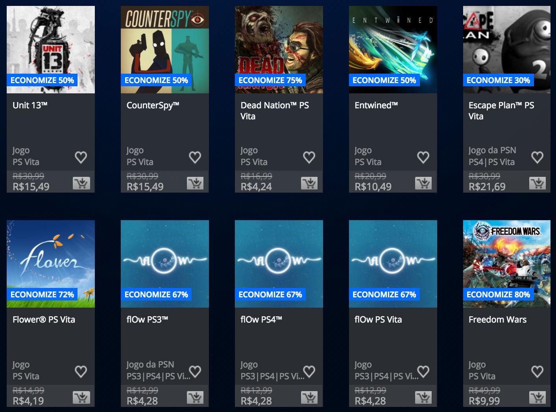 """Sony anuncia """"Promoção Somente no PlayStation"""" na PSN; veja preços 11"""