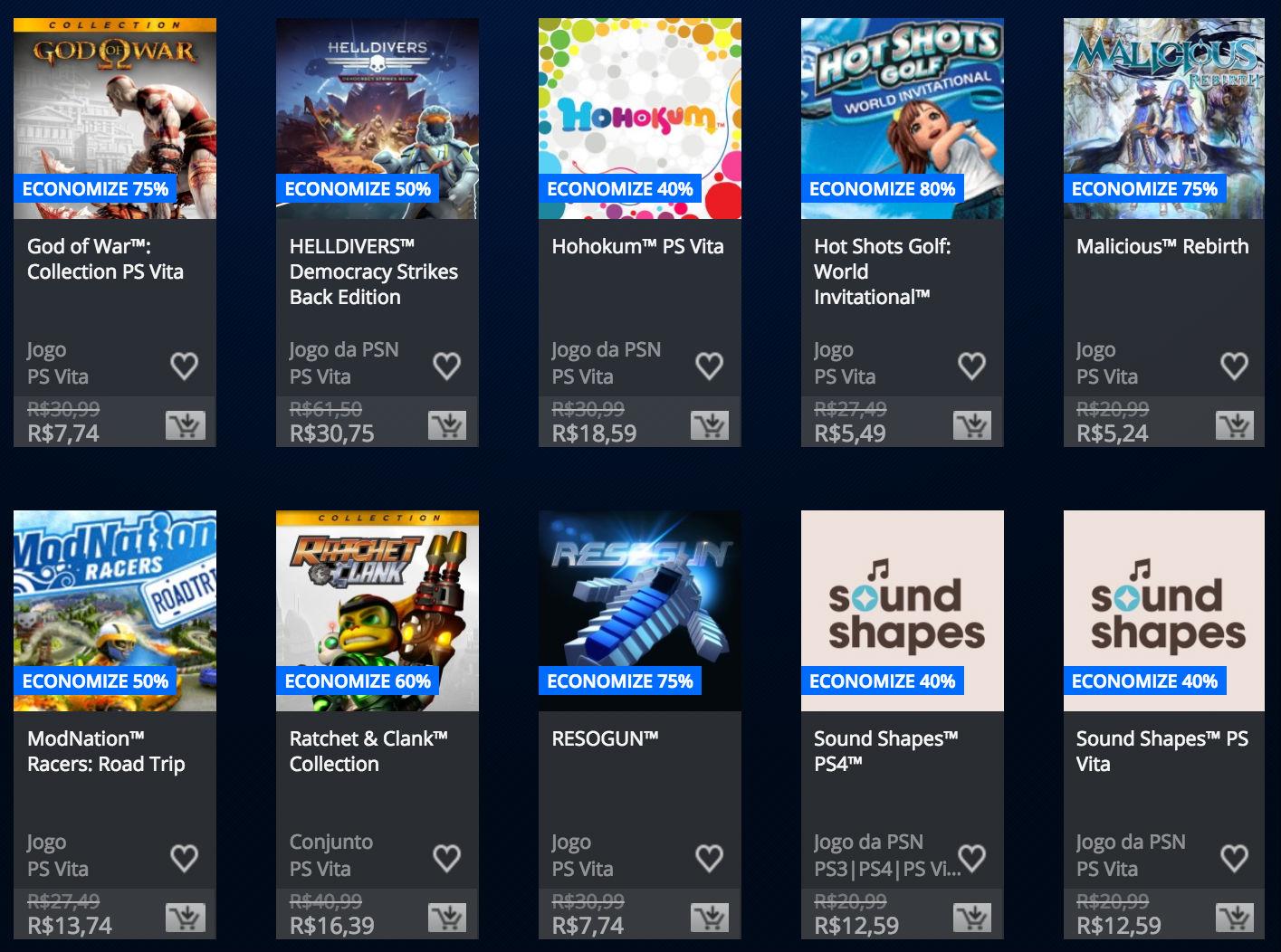 """Sony anuncia """"Promoção Somente no PlayStation"""" na PSN; veja preços 12"""
