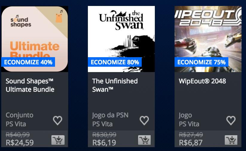 """Sony anuncia """"Promoção Somente no PlayStation"""" na PSN; veja preços 13"""