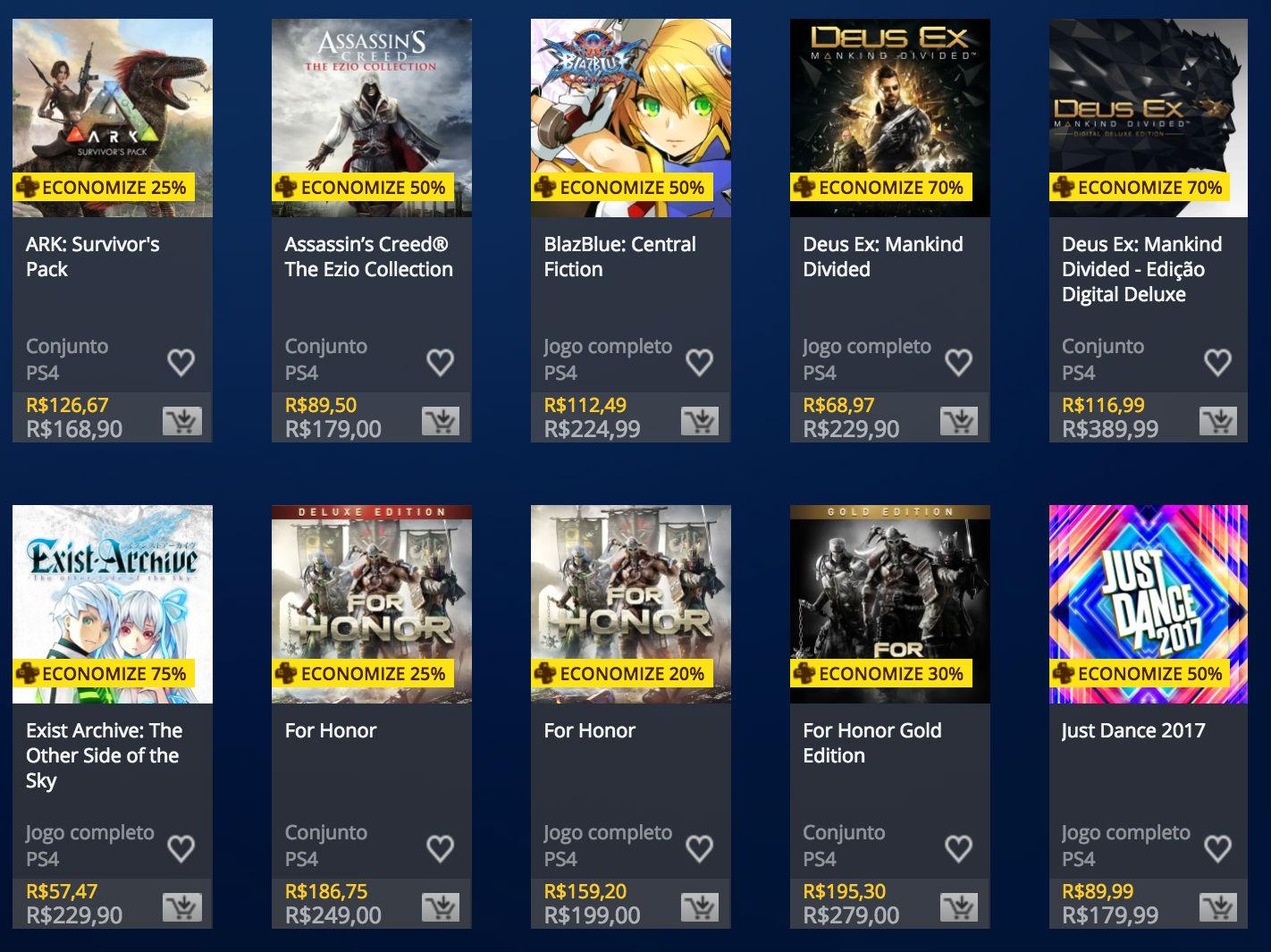 Sony oferece descontos exclusivos para assinantes da PS Plus; veja jogos 1