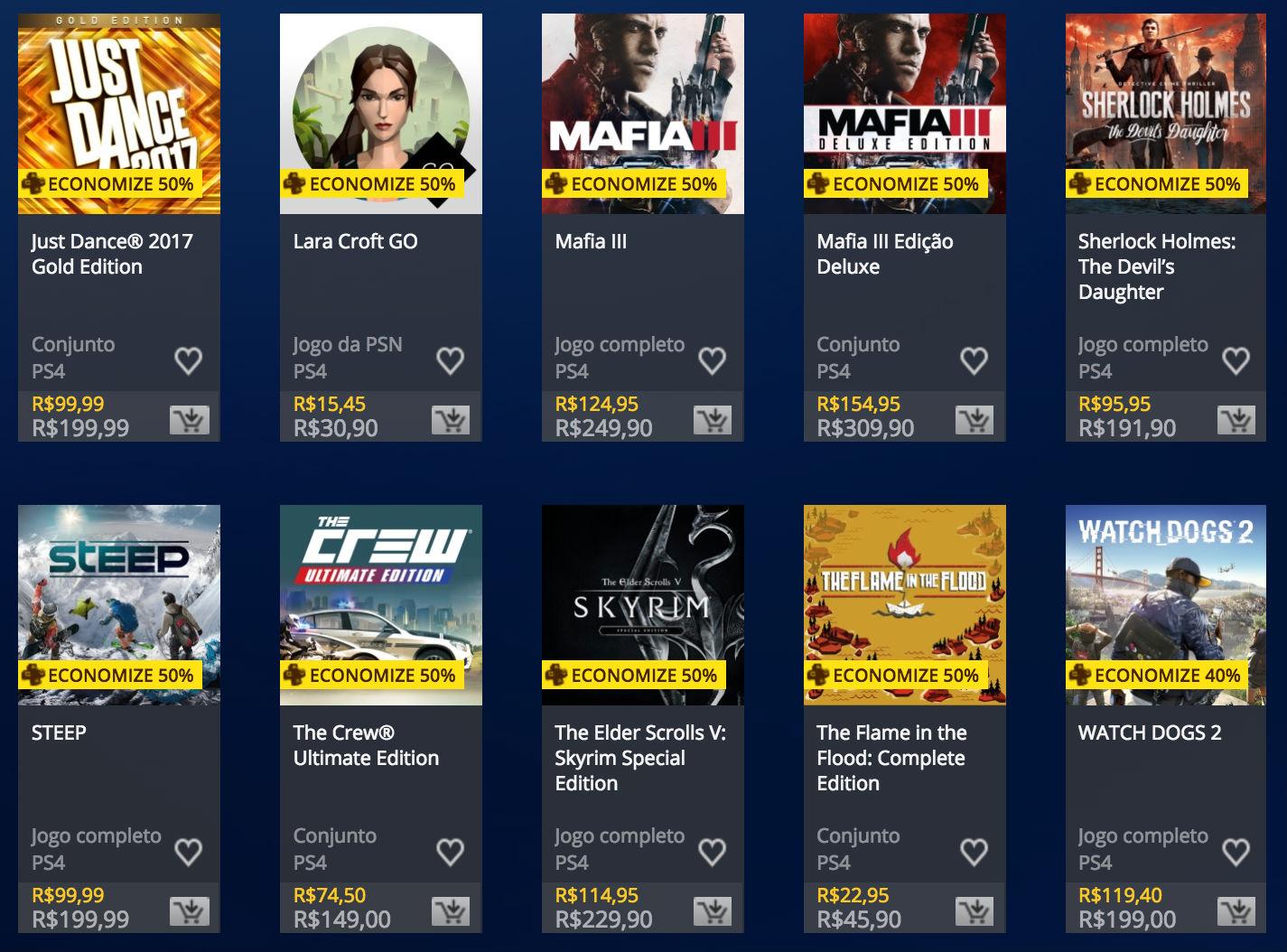 Sony oferece descontos exclusivos para assinantes da PS Plus; veja jogos 2