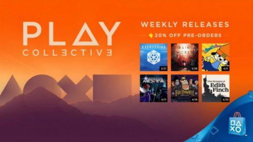 Sony anuncia o Play Coletivo: lançamentos de jogos com descontos; veja